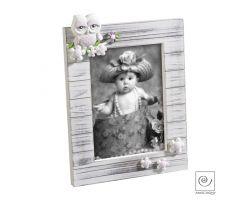 Cornice Portafoto in Legno con Civetta13 x 18 cm Linea A298