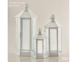 Lanterna Esagonale in metallo H 38 cm 602096.10P
