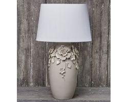 LAMPADA TORTORA PETALI ø 38 cm H 73 cod. D14746