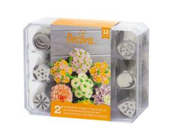 Cofanetto 12 fiori 3D  0263651