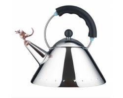 Bollitore tea REX nero e acciaio 9093REX B