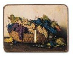 Quadro Porta presine con cesto di uva 151e