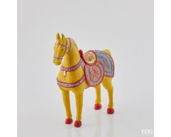 Cavallo Poly Decorato H 31 cm 712773.29