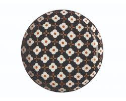 PIATTO GRANDE  LINEA MARIGOLD 23 CM WHITE FLOWER CV60023