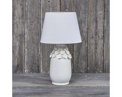 LAMPADA BIANCA PETALI ø 30 cm H 54 cod. D14751