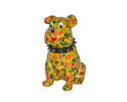 SALVADANAIO Bulldog Buddy Giallo Piccolo  14800310