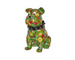 SALVADANAIO Bulldog Buddy Verde Piccolo  14800310