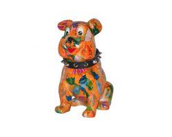 SALVADANAIO Bulldog Buddy Arancione Piccolo  14800310