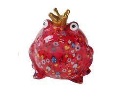 SALVADANAIO King Frog Freddy Rosso Piccolo  14800003