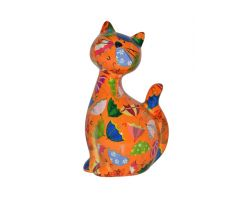 SALVADANAIO Cat Caramel Arancione Piccolo  14800029