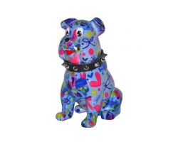 SALVADANAIO Bulldog Buddy Blu Piccolo  14800310