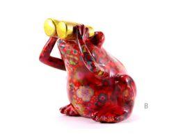 SALVADANAIO Frog Rosso Piccolo  14800192