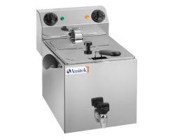 Friggitrice elettrica 6 lt con rubinetto FE8R