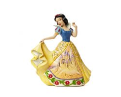 BIANCANEVE CON ABITO DECORO CASTELLO DISNEY TRADITION 4045243