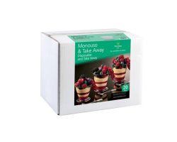 Coppetta trasparente confezione 20 pezzi  cap.150 ml  PMOCO0032000