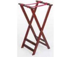 SGABELLO REGGI VASSOI pieghevole in legno 43x50xH80 cm 104847