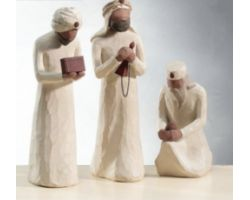STATUE WILLOW TREE THE THREE WISE MEN 26027
