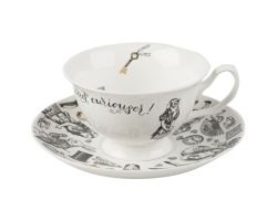 Tazza tè con piattino ALICE NEL PAESE DELLE MERAVIGLIE 5200018