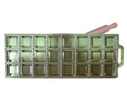RAVIOLATORE quadro grande 24 pz in alluminio con mattarellino 115163
