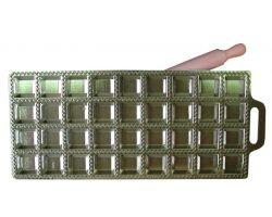 RAVIOLATORE quadro piccolo 36 pz in alluminio con mattarellino 115162