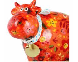 SALVADANAIO Cow Bella Arancione Piccolo 14800022