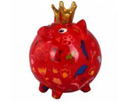 SALVADANAIO Pig Betty Rosso Piccolo 14800336