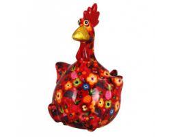 SALVADANAIO Chicken Charlotte Rosso Piccolo 14800341