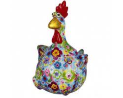 SALVADANAIO Chicken Charlotte Blu Piccolo 14800341