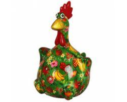 SALVADANAIO Chicken Charlotte Verde Piccolo 14800341