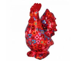 SALVADANAIO Rooster Maurice Rosso Piccolo 14800404