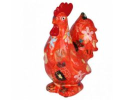 SALVADANAIO Rooster Maurice Arancione Piccolo 14800404