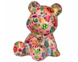 SALVADANAIO Bear Cyril Rosa Piccolo 14800243
