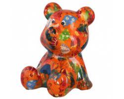 SALVADANAIO Bear Cyril Arancione Piccolo 14800243