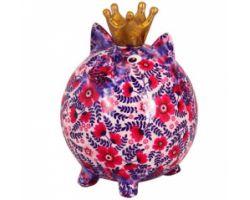 SALVADANAIO Pig Big Betty VIOLA Medio 14800337 VIOLA