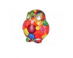 SALVADANAIO owl Errol Arancione Mini 14800304