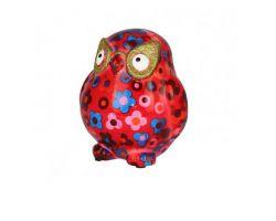 SALVADANAIO owl Errol Rosso Mini 14800304