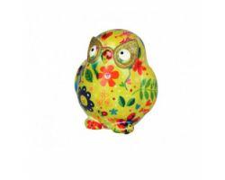 SALVADANAIO owl Errol Giallo Mini 14800304