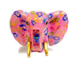 Decoro da parete Big Elephant Jim Magenta Madnes 14800232