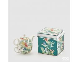 TEA FOR ONE in porcellana green mix 017109.78