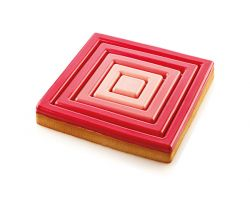 ANELLO MICROFORATO TARTE RING SQUARE 200x200 H20 mm 52.388.20.0065