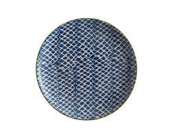 PIATTO LAGUNA WOVEN BLU Ø 20 CM BI0429