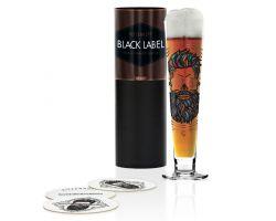 BICCHIERE BIRRA BLACK LABEL SANTIAGO SEVILLANO CL.40 COD. 1010240