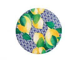 Piastrella Sottopentola in ceramica POSITANO Limone Ø 20 cm DU0106