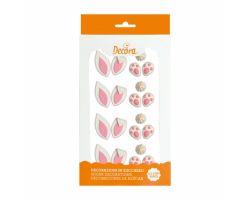 10 Decorazioni per creare Coniglietto in Zucchero 0500413