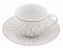 Set 6 tazzine caffè con piattino DUBAI Tortora 10260359