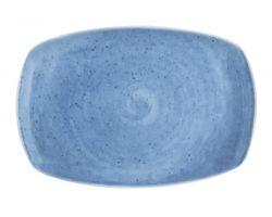Piatto rettangolare portata 32x18.5 cm AVENA Blu 10260513