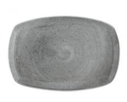 Piatto rettangolare portata 32x18.5 cm SEGALE Grigio 10260549