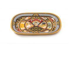 Vassoio ovale in melamina 44x32 cm SANTA ROSALIA 1036911