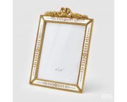 Portafoto Specchio rettangolare ORO 20x25(34.5x26) cm 713755.01