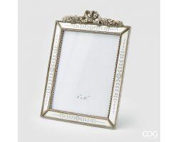 Portafoto Specchio rettangolare ARGENTO 20x25(34.5x26) cm 713755.02